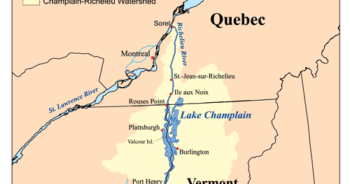 Wandering Star Page 17 Americas Great Loop As Traveled By Dirk - Lake-champlain-on-us-map