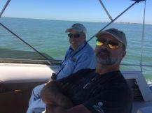 rick on boat